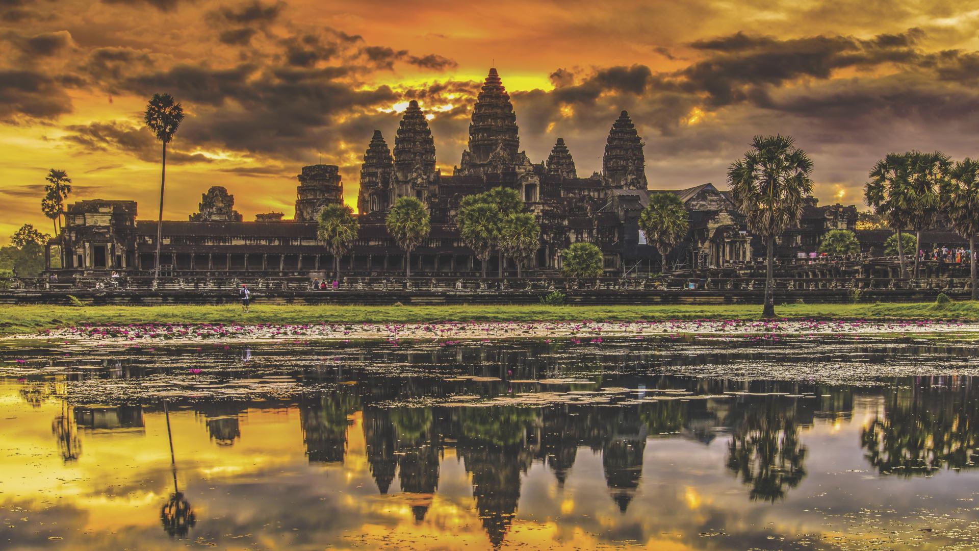 Dünyanın En Büyük Tapınak Bölgesi: Siem Reap, Kamboçya