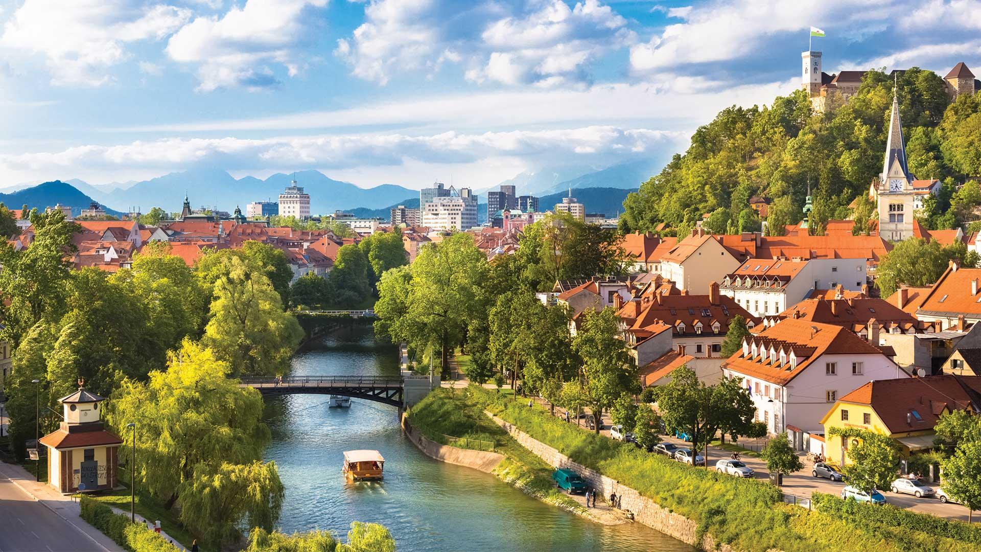 Avrupa'nın Yeşil Başkenti Ljubljana