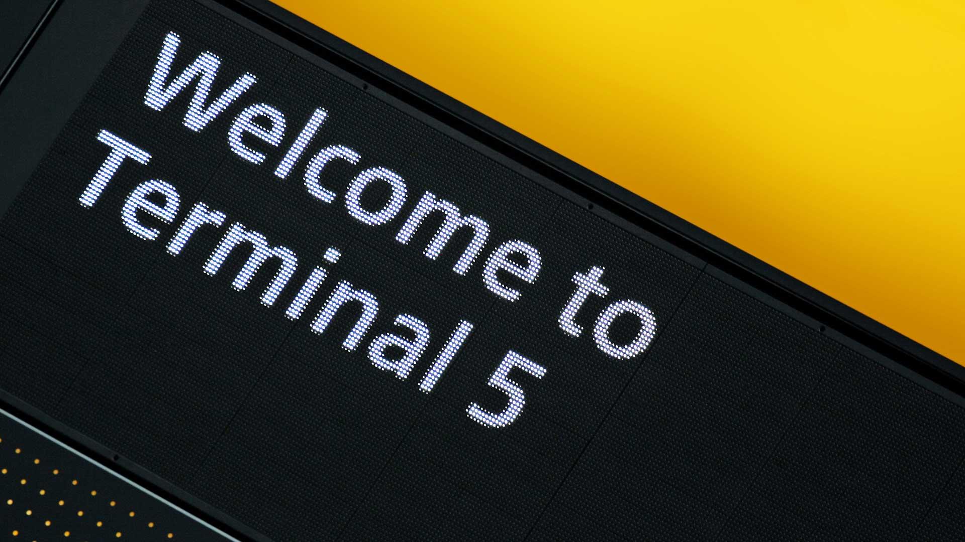 Heathrow Terminal 5'te Zaman Geçirmek