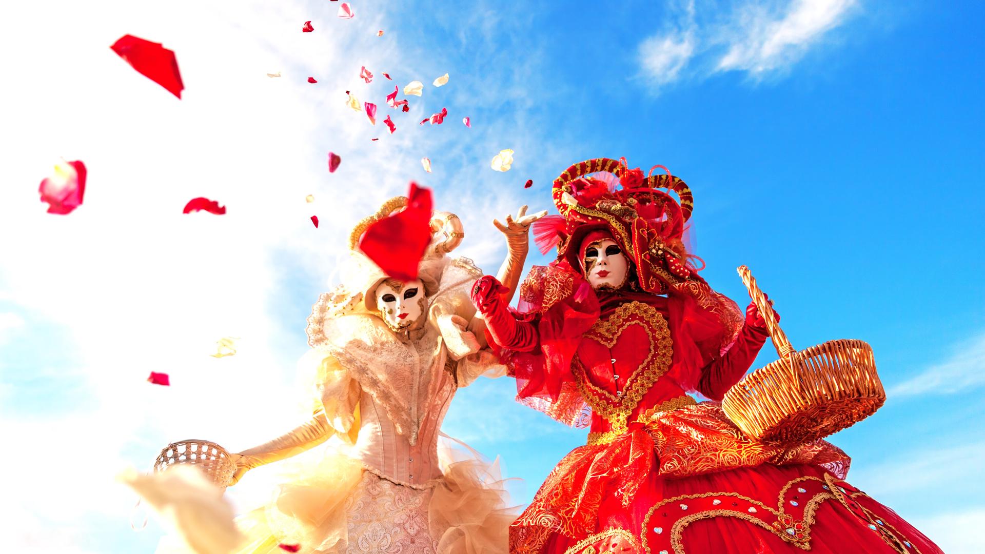 İtalyan Usulü Maskeli Eğlence, Venedik Karnavalı