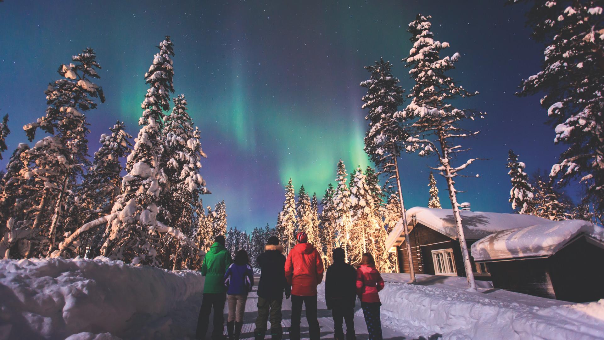 En Güzel Kış Rüyası: Laponya, Finlandiya