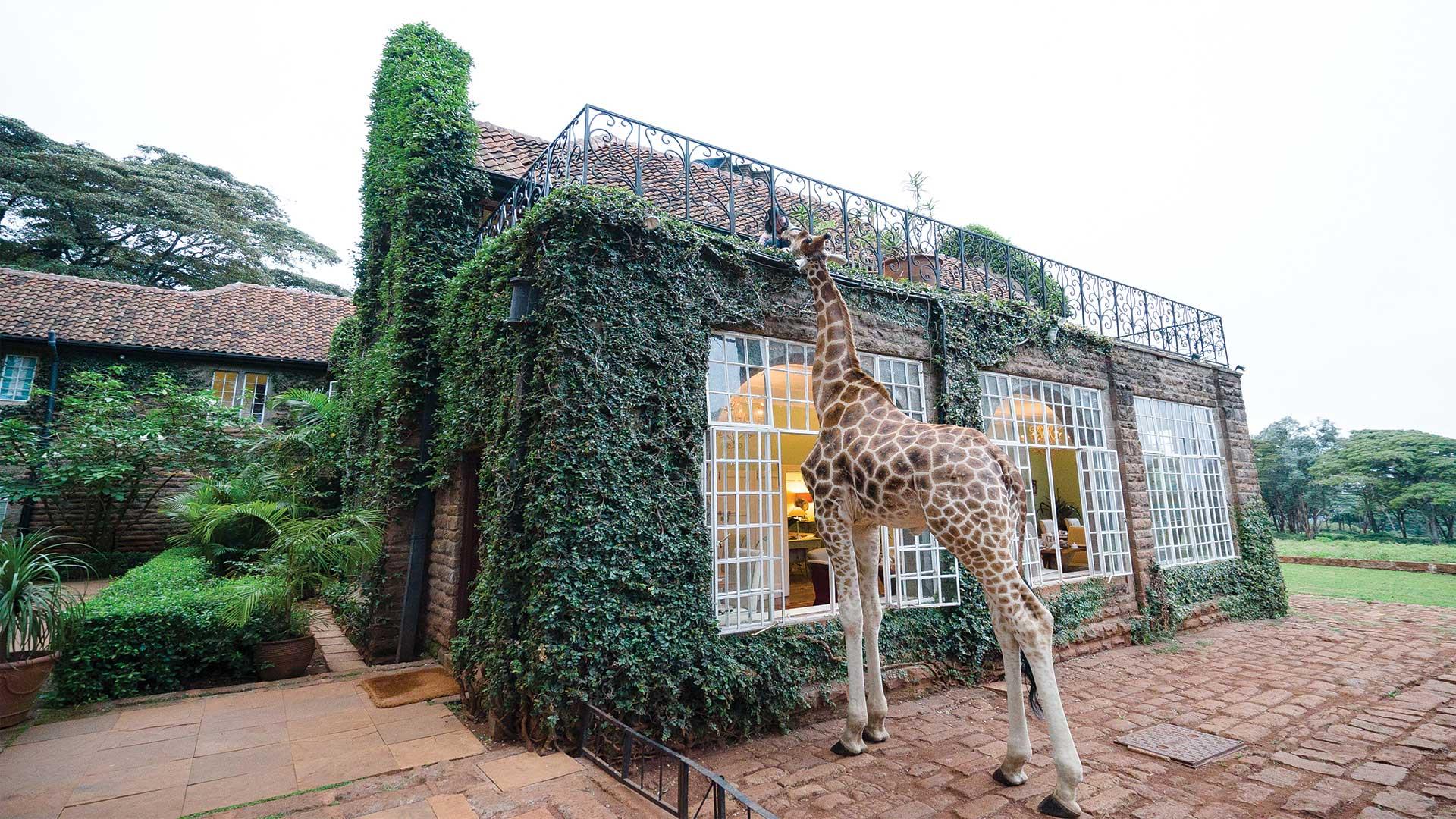 Giraffe Manor Hotel Nairobi