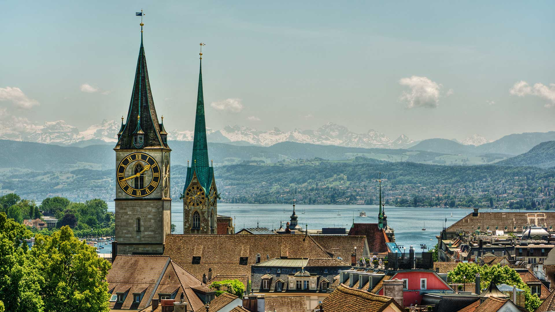 Saatleri Ayarlama Ülkesi, İsviçre