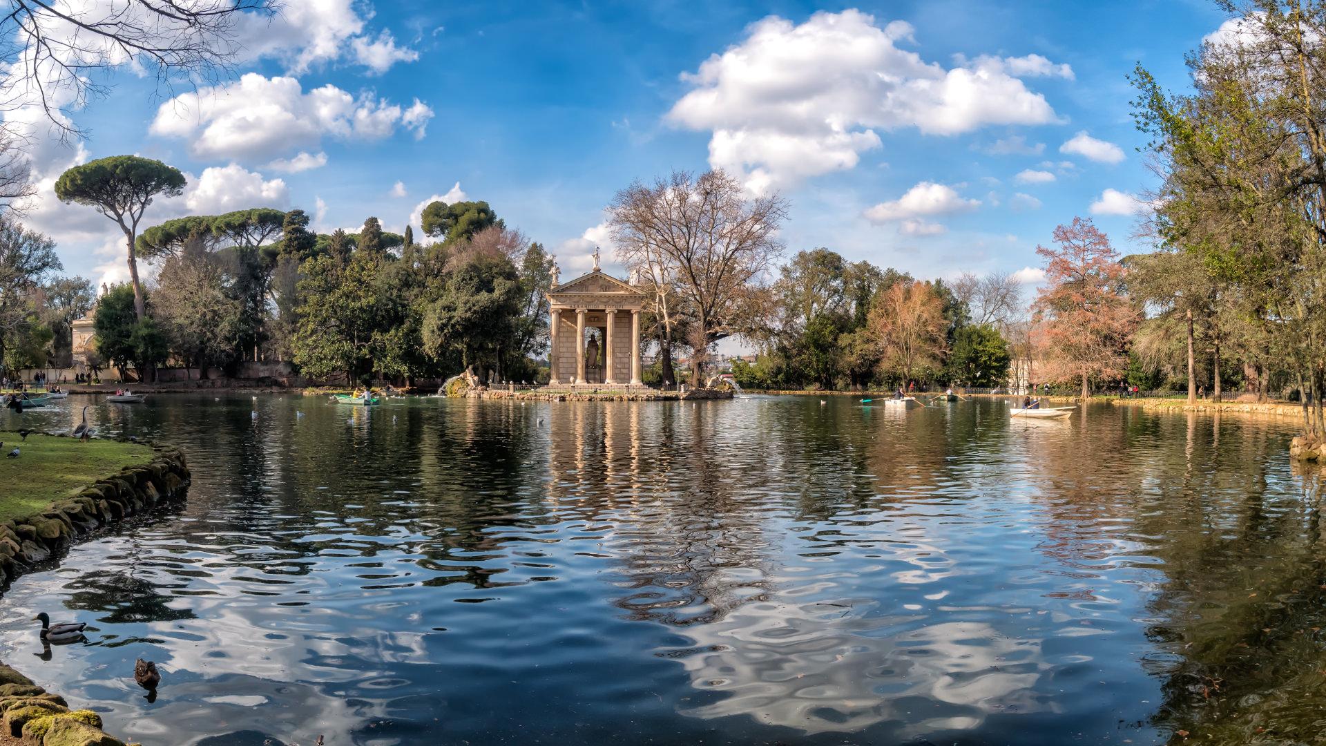 Dolu Dolu Bir Park: Villa Borghese