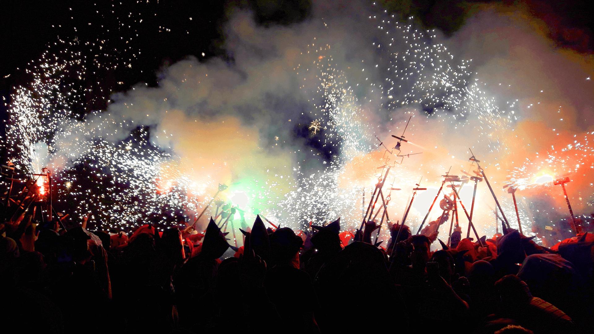 Katalanların Festivali Bir Başka La Merce Festivali