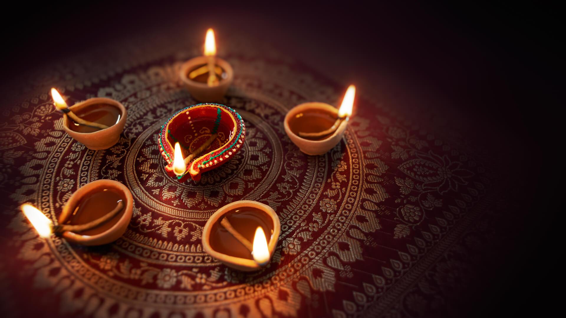 Işığın Bilgeliğiyle Gelen İyilik, Diwali Festivali, Hindistan