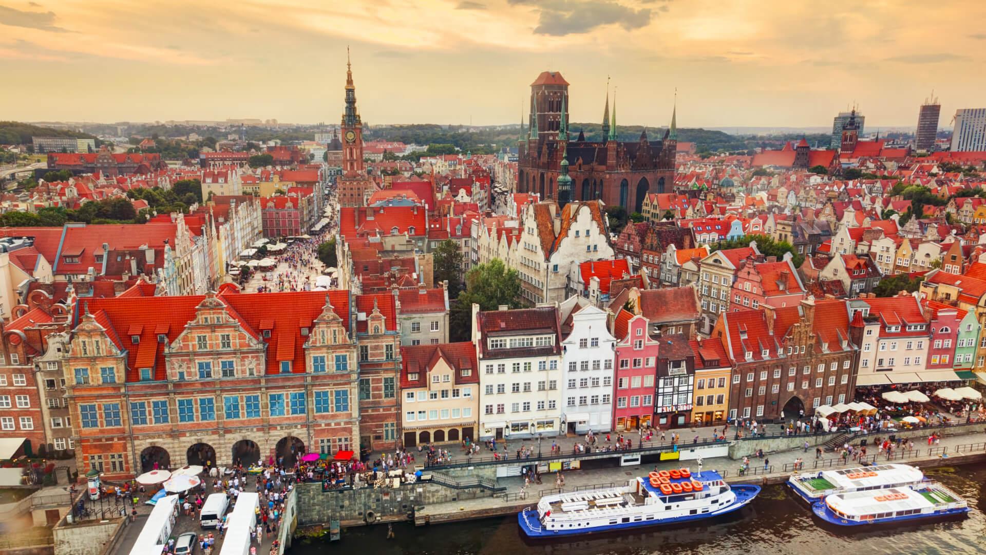 Baltık Kıyısında Göz Alıcı Tarih, Gdansk