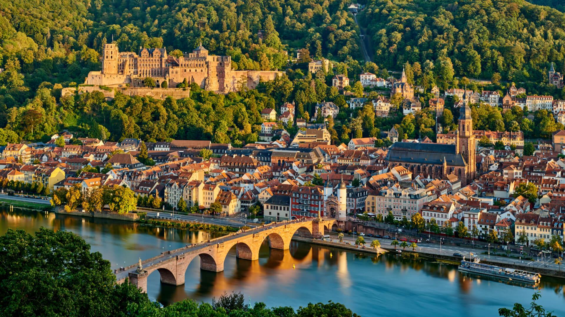 Almanya'nın Romantik Şehri Heidelberg