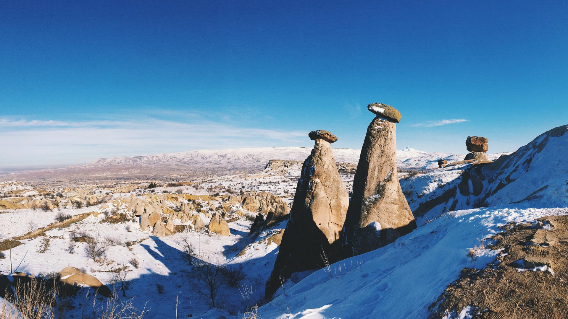 Kapadokya'dan Kış Manzaraları