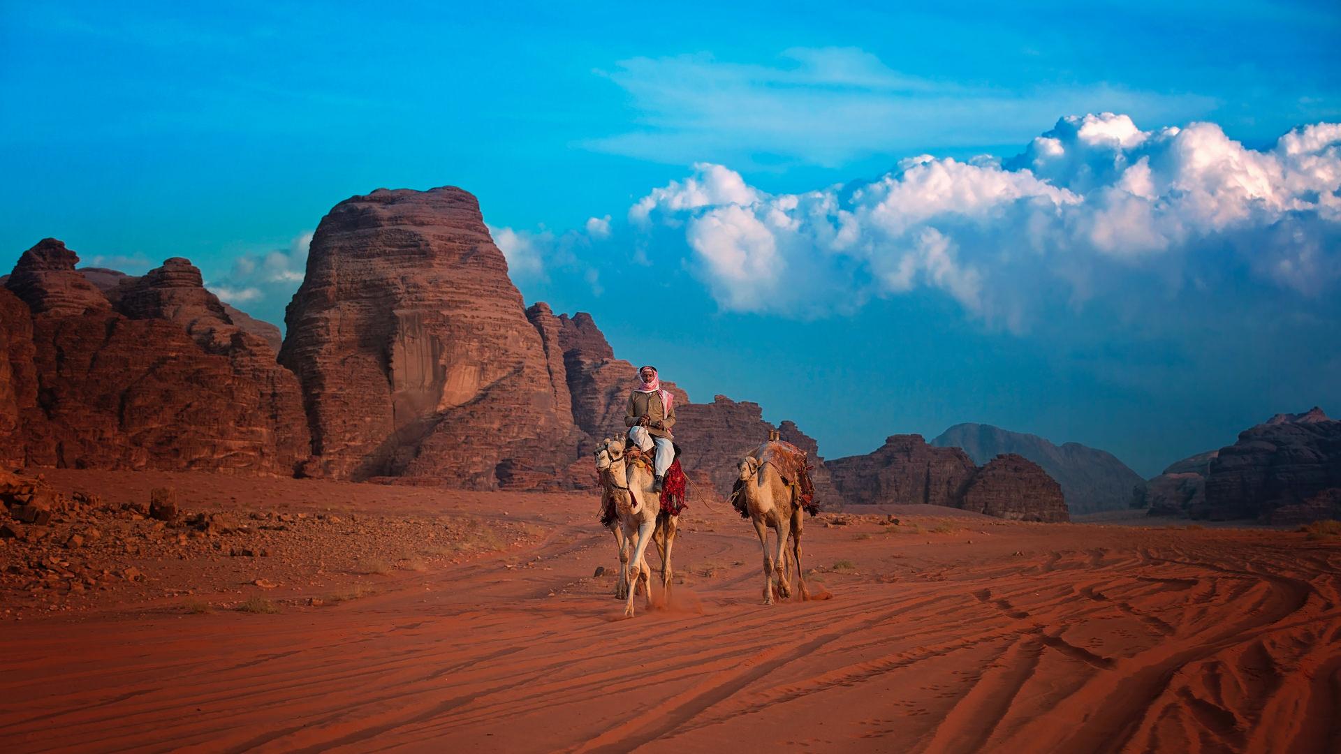 Burası Mars Değil, Wadi Rum, Ürdün