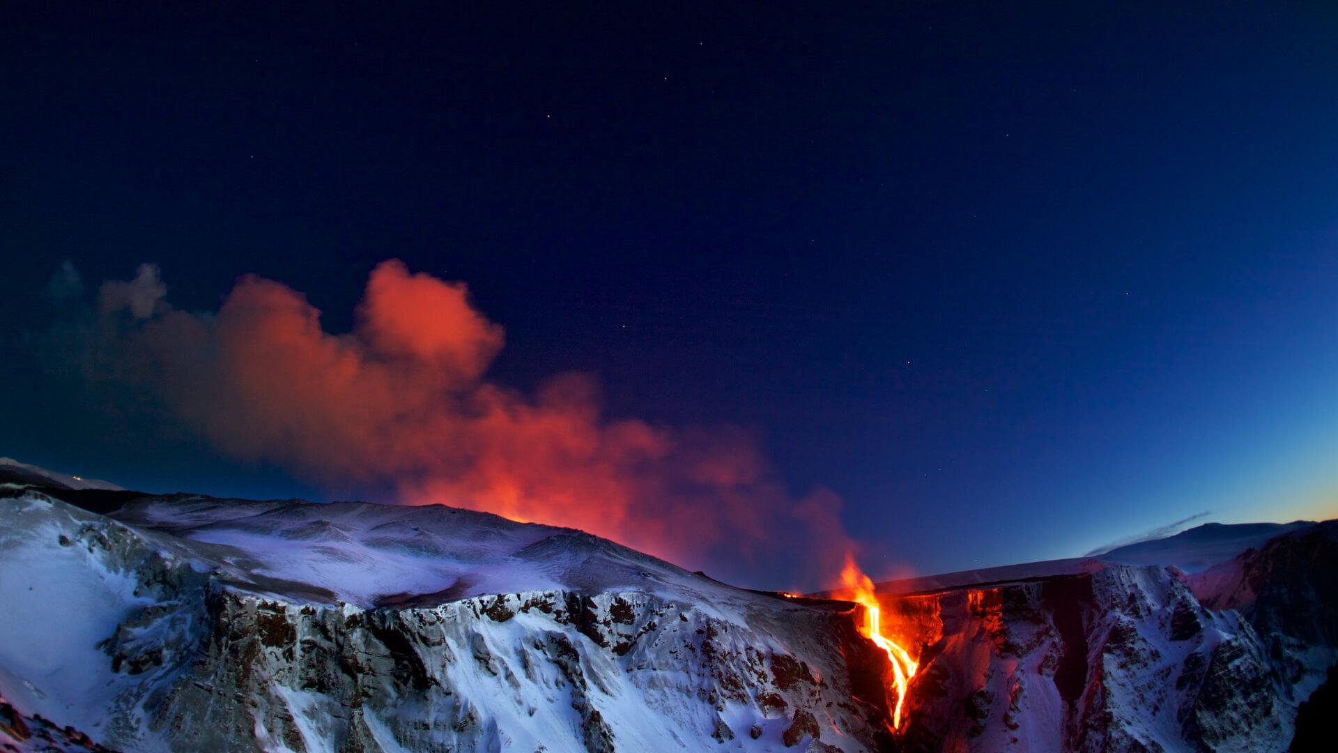 Buzullar Ülkesinde Alev Püsküren Bir Ejderha: Eyjafjallajökull Yanardağı