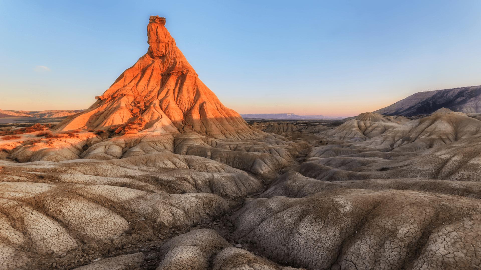 İspanya'da Bir Çöl Parçası, Bardenas