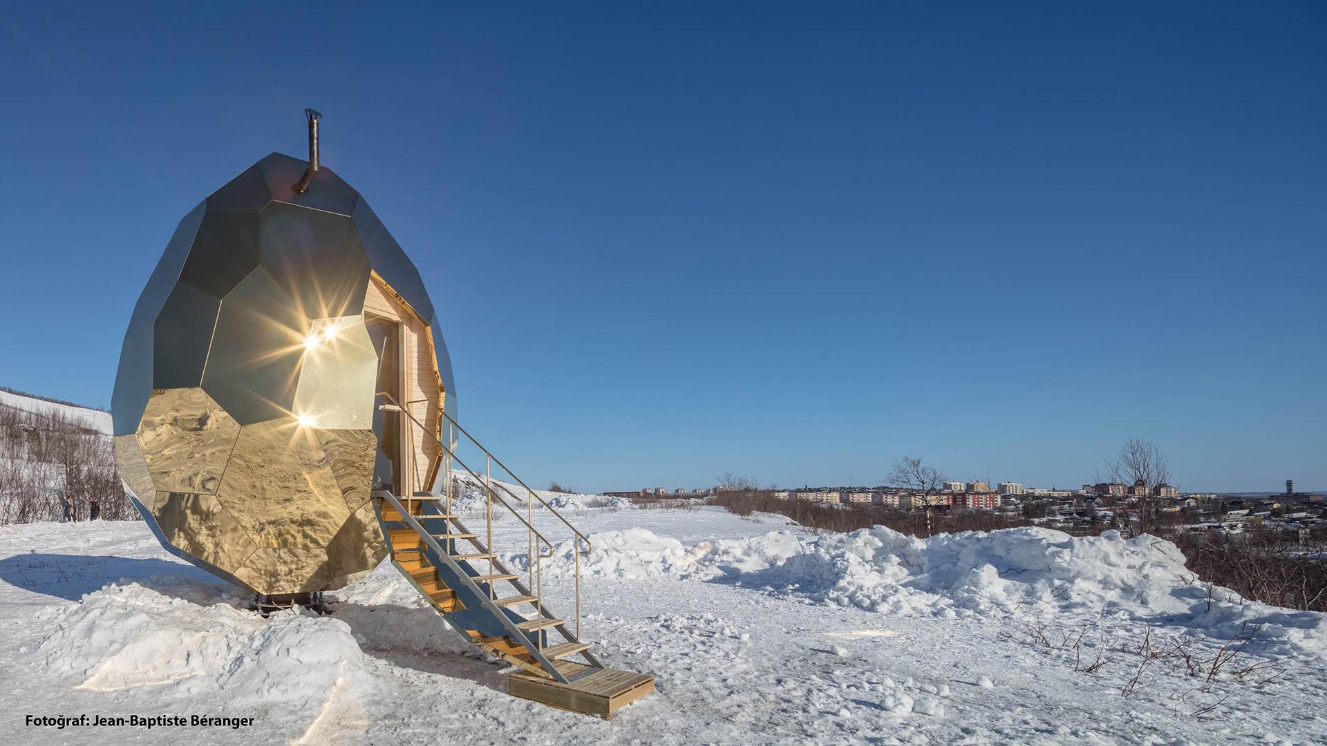 Bir İsveç Sauna Deneyimi: Solar Egg