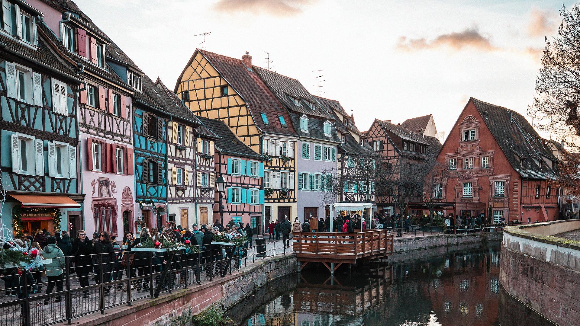 """Colmar, Fransa'da""""YeniYıl Coşkusu"""""""