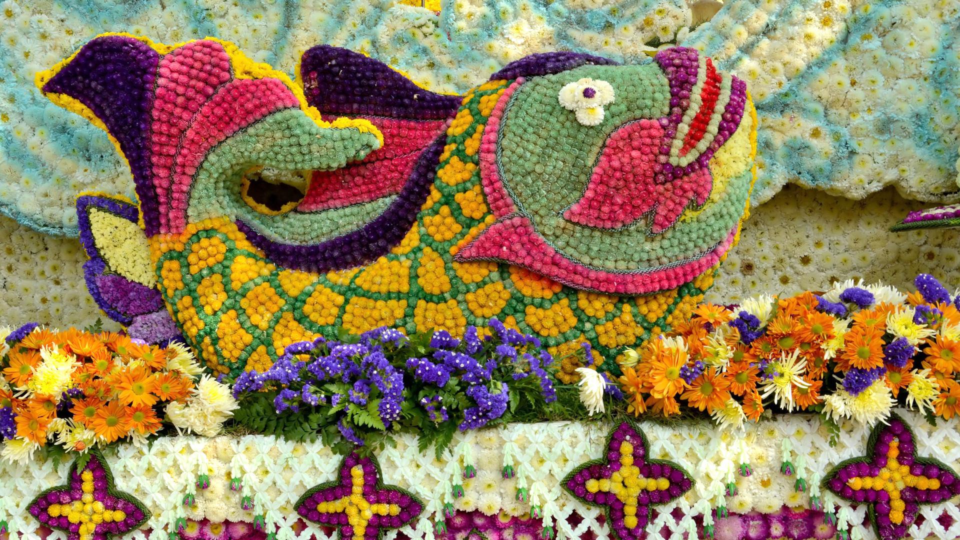 Chiang Mai Çiçek Festivali, Tayland