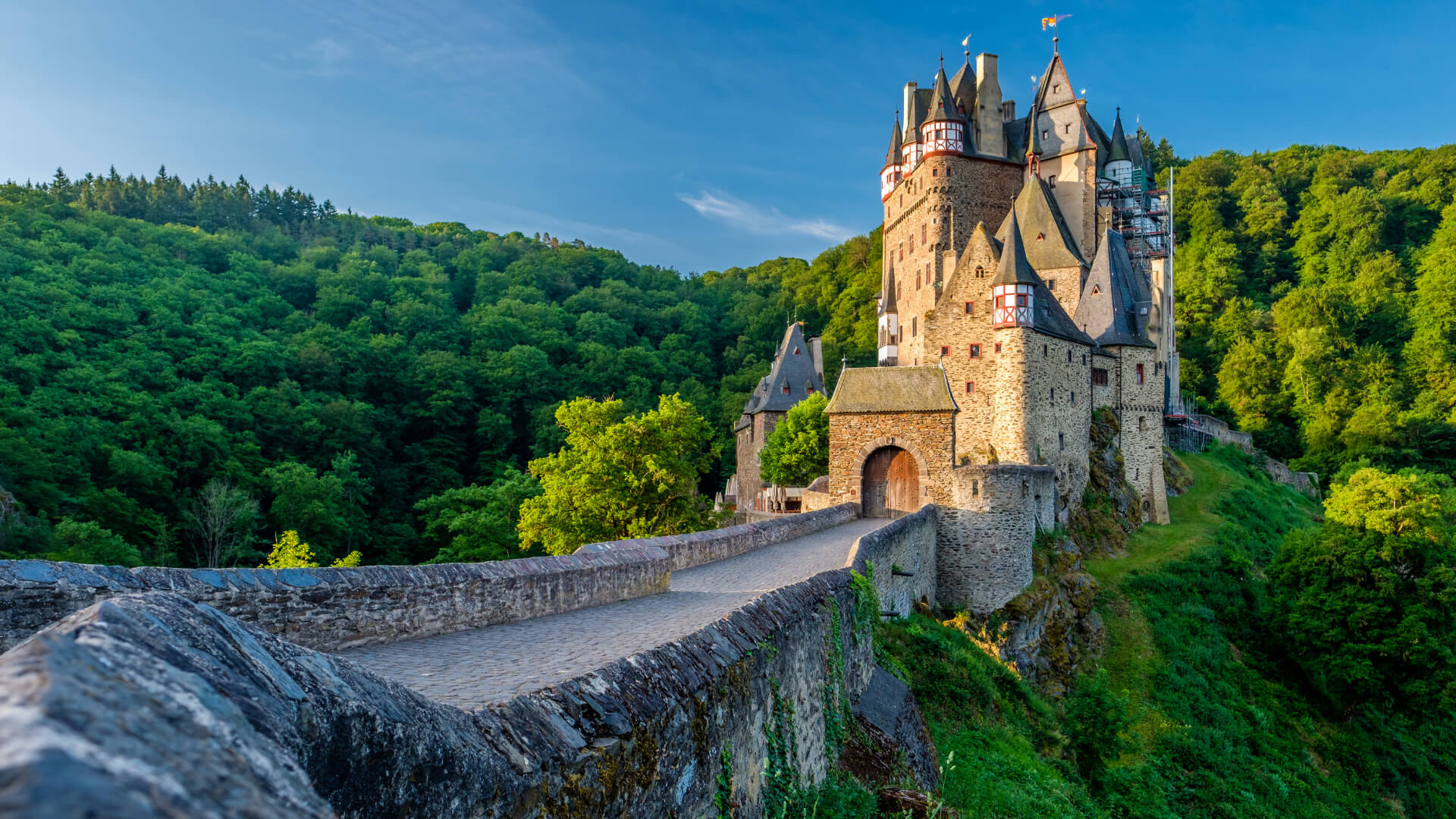 Cochem, Geierlay Köprüsü ve Burg Eltz, Almanya