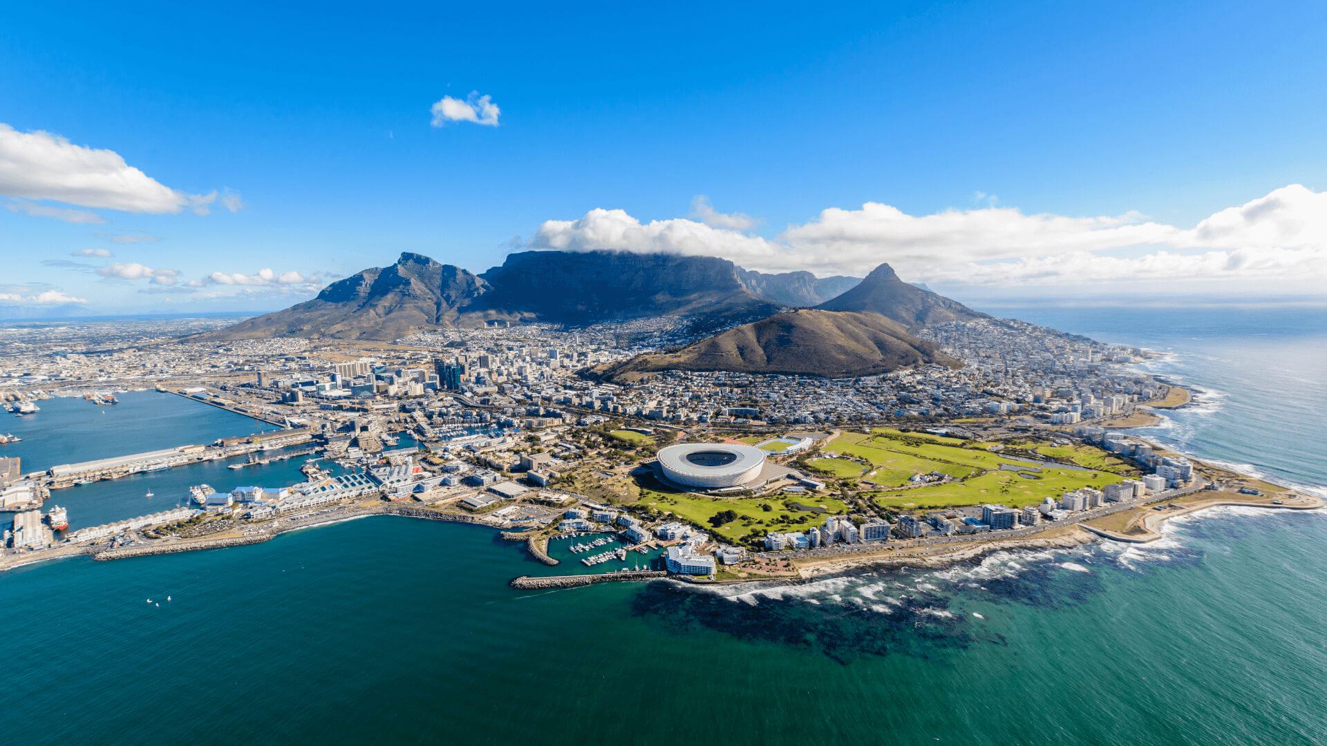 Modern Kent, Vahşi Doğa Yolculuk Cape Town'a