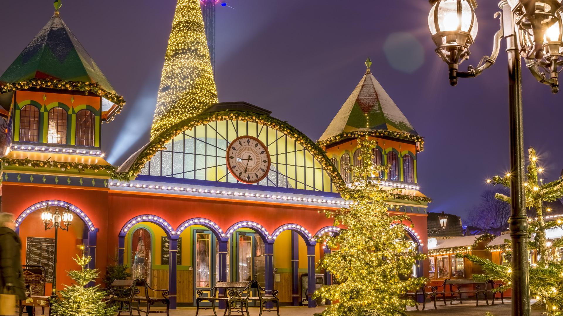 Danimarka'nın Başkenti Kopenhag'da Noel Zamanı!