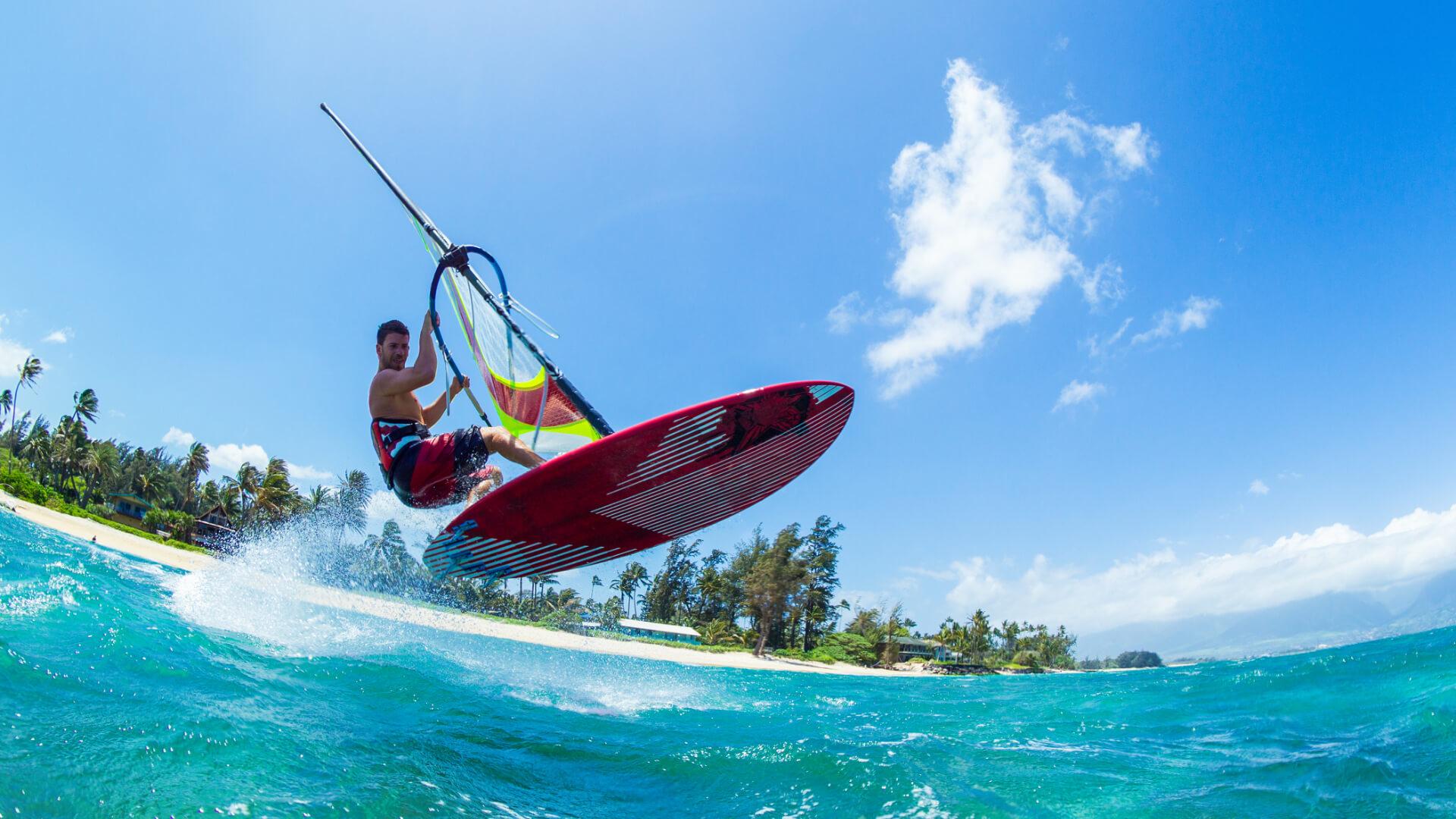 Dünyanın En İyi Esintileri, Rüzgâr Sörfü için Rotalar