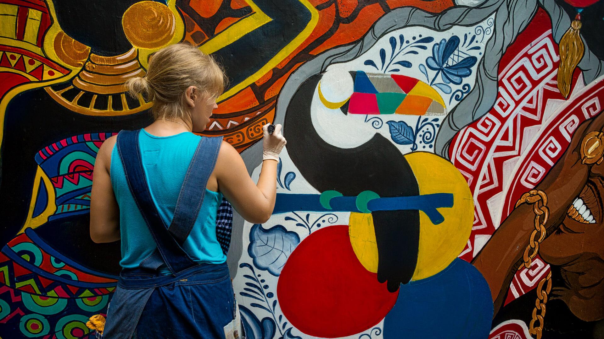Dünyayı Gezen Sokak Sanatçıları
