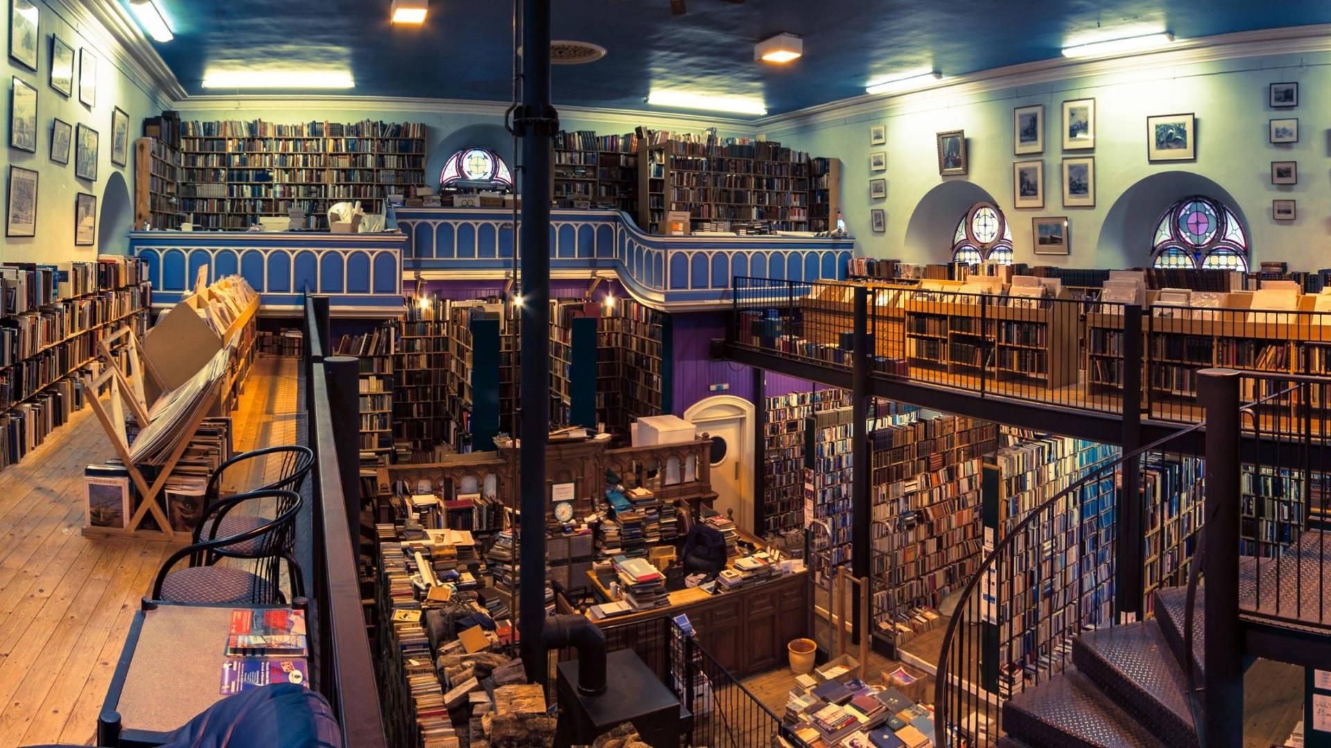 Kitaba İbadetin Merkez Üssü: Leakey's Bookshop