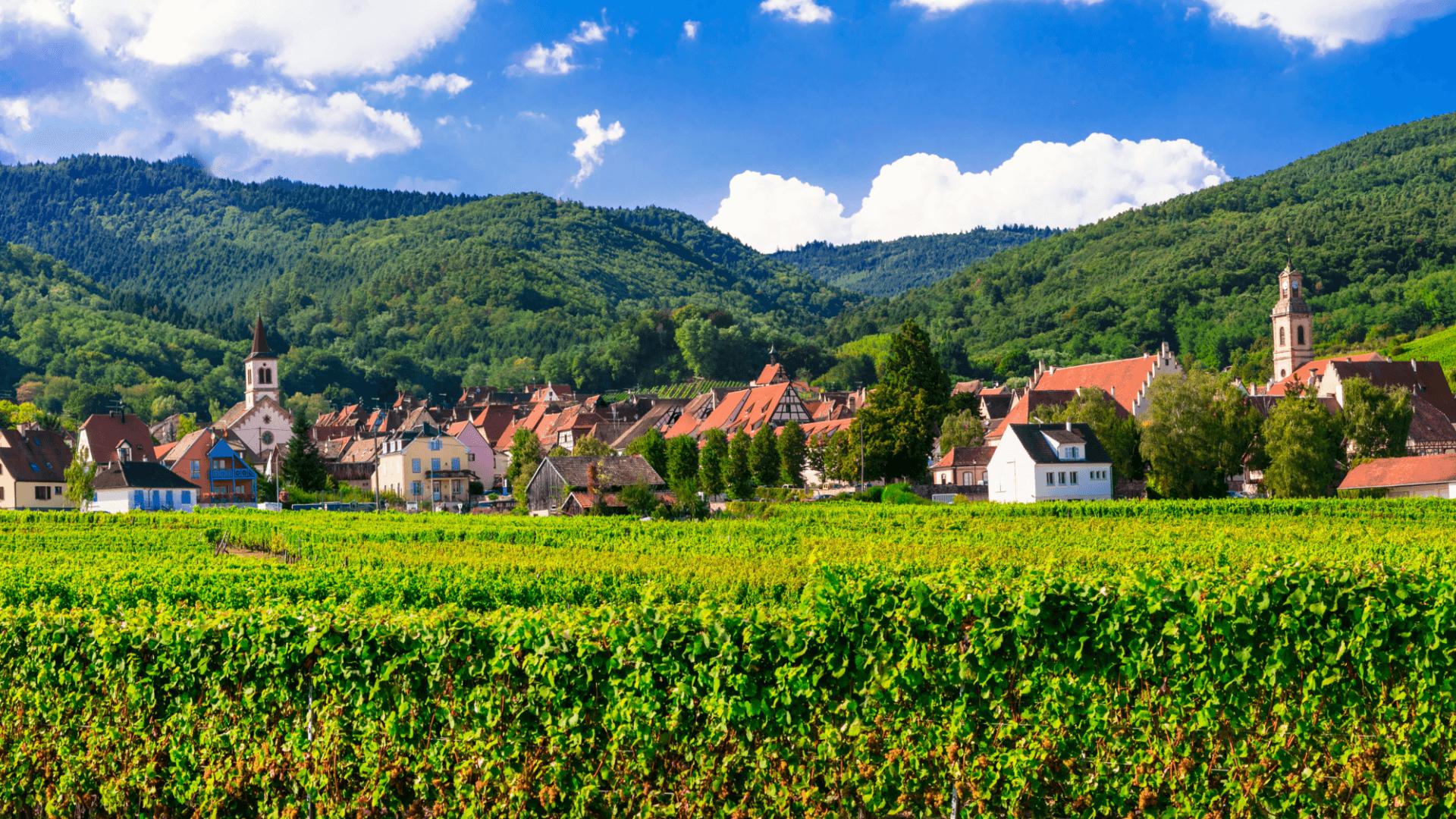 Fransa'nın Masalsı Köyleri | Alsace