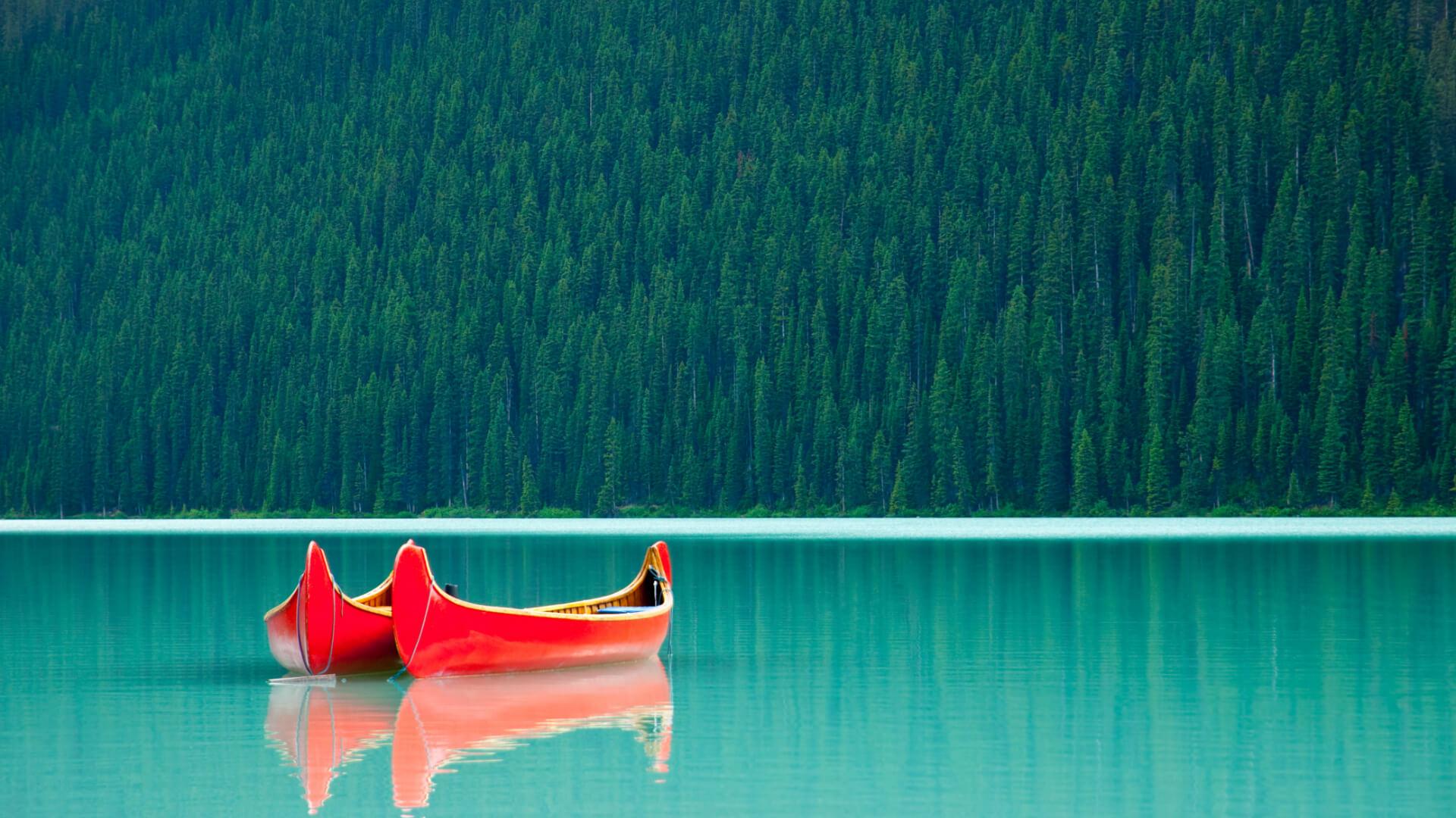 Göllerin ve Dağların Büyüsü Alberta, Kanada