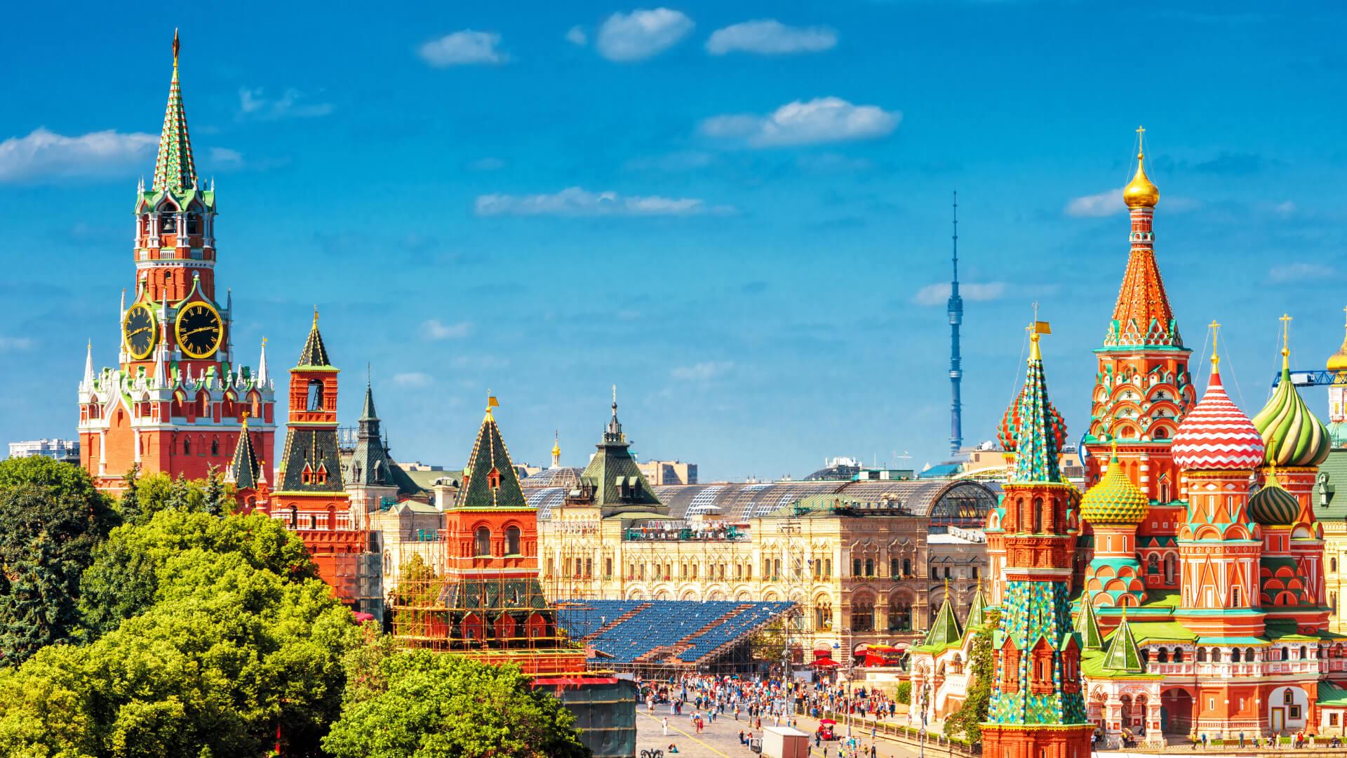 Görkemli Mimarî, Görkemli Tarih; Moskova