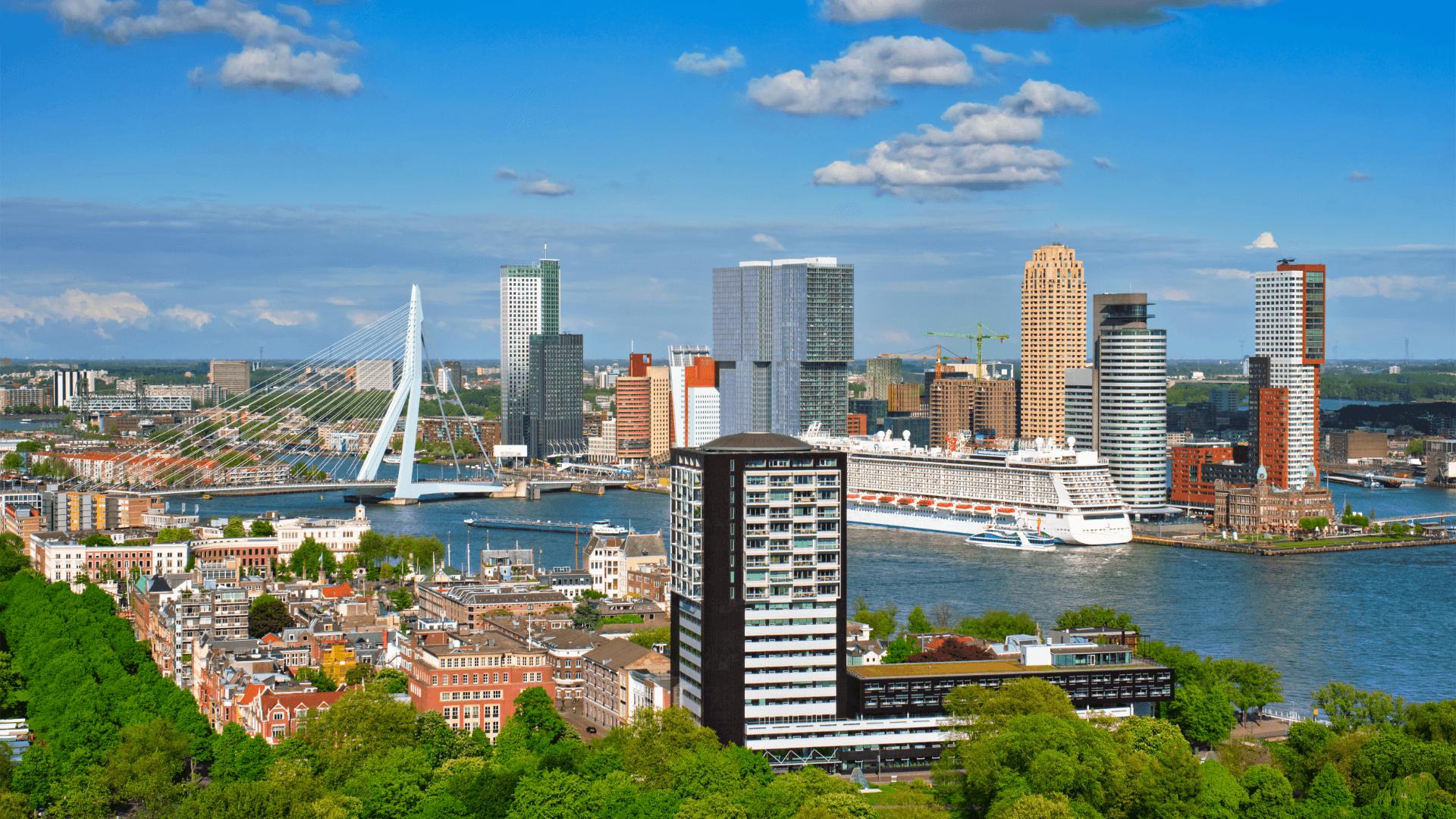 Her Köşesinde Yaratıcılığın Bir İzi, Rotterdam, Hollanda
