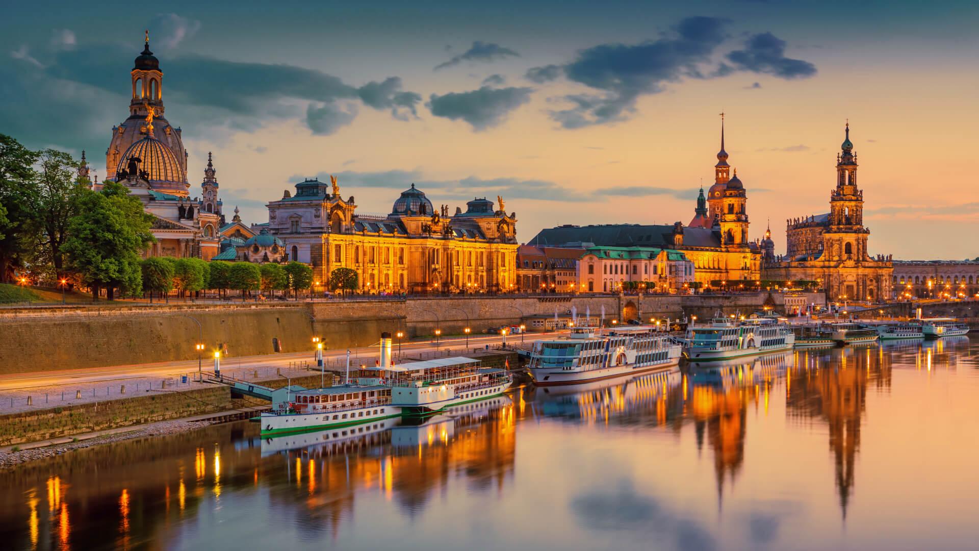 Hüzünlü Dresden, Kadınlar Kilisesi ve Opera Binası