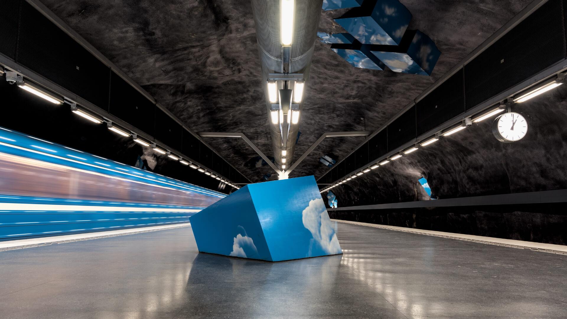 İstasyonu Seyrederken Metroyu Kaçırabilirsiniz!