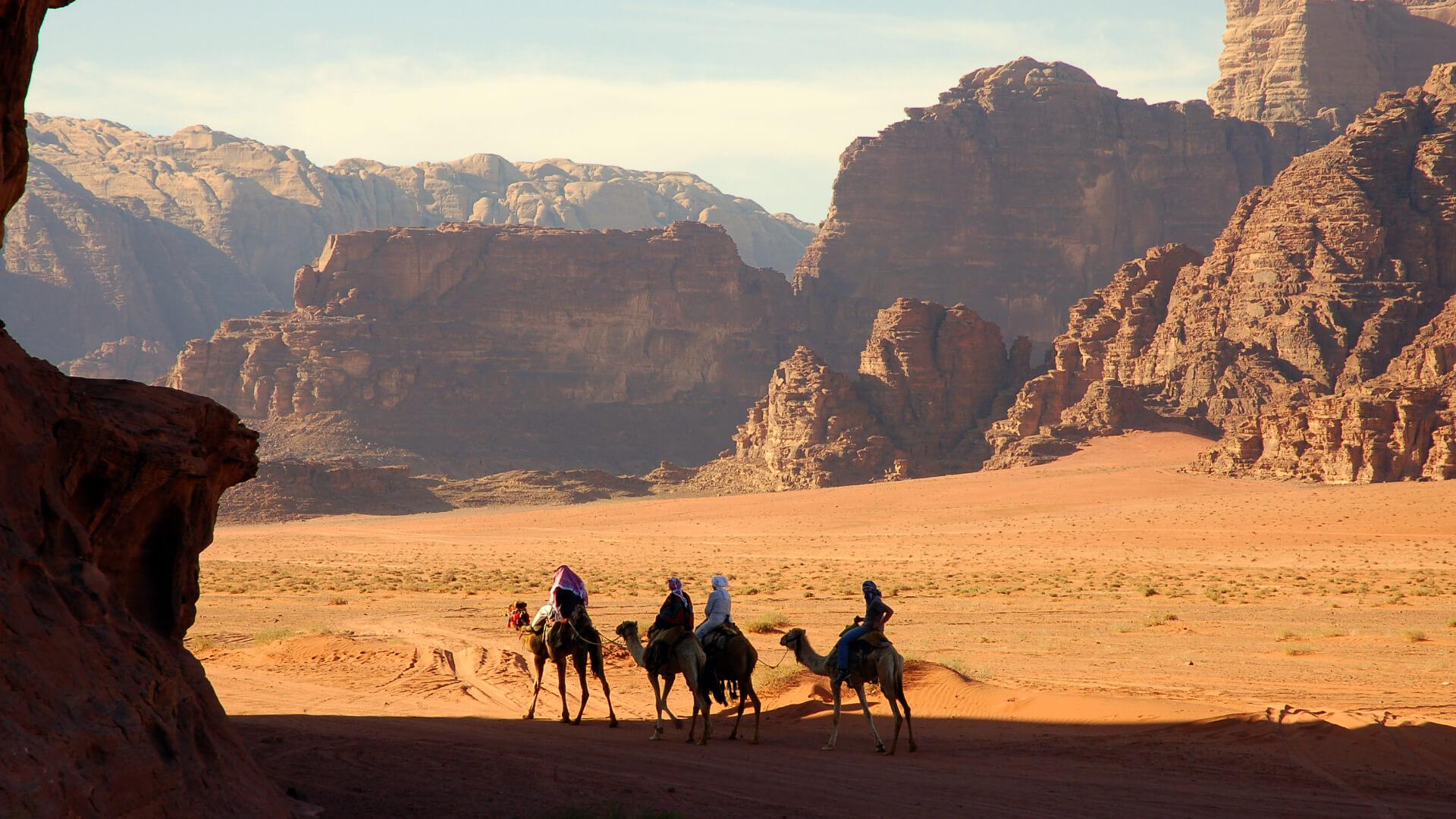 Kızıl Bir Çölde Sessiz Bir Gece...Wadi Rum