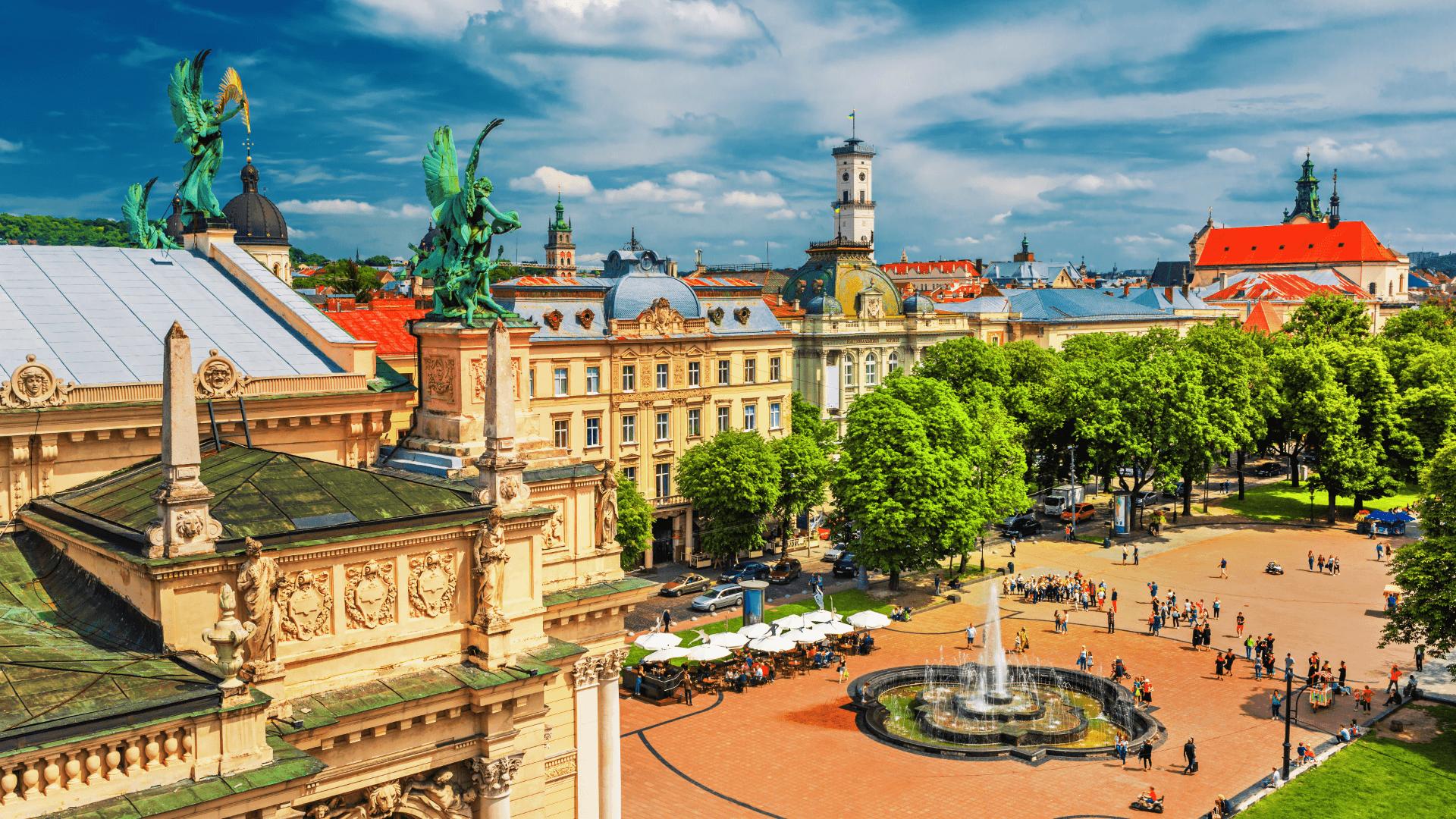 Tarihiyle Kültürüyle İlgi Çekiyor, Gözler Lviv'in Üzerinde