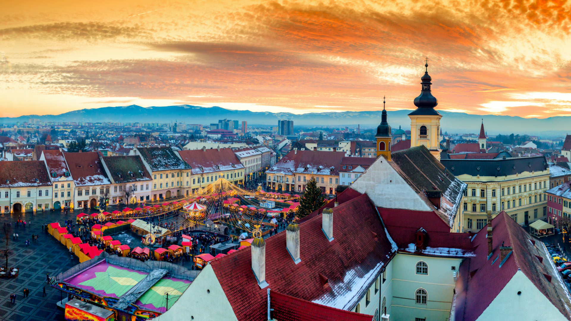Transilvanya'nın Uykulu Gözleri; Sibiu