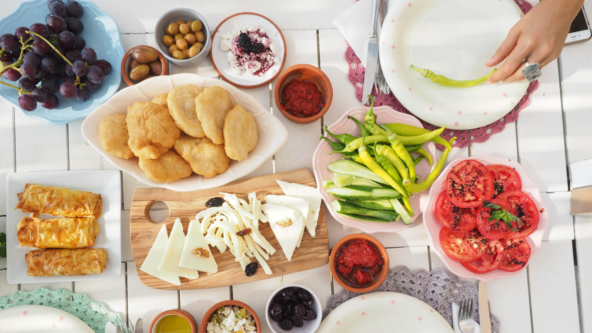 Türkiye'nin En Güzel Kahvaltılık Ürünleri