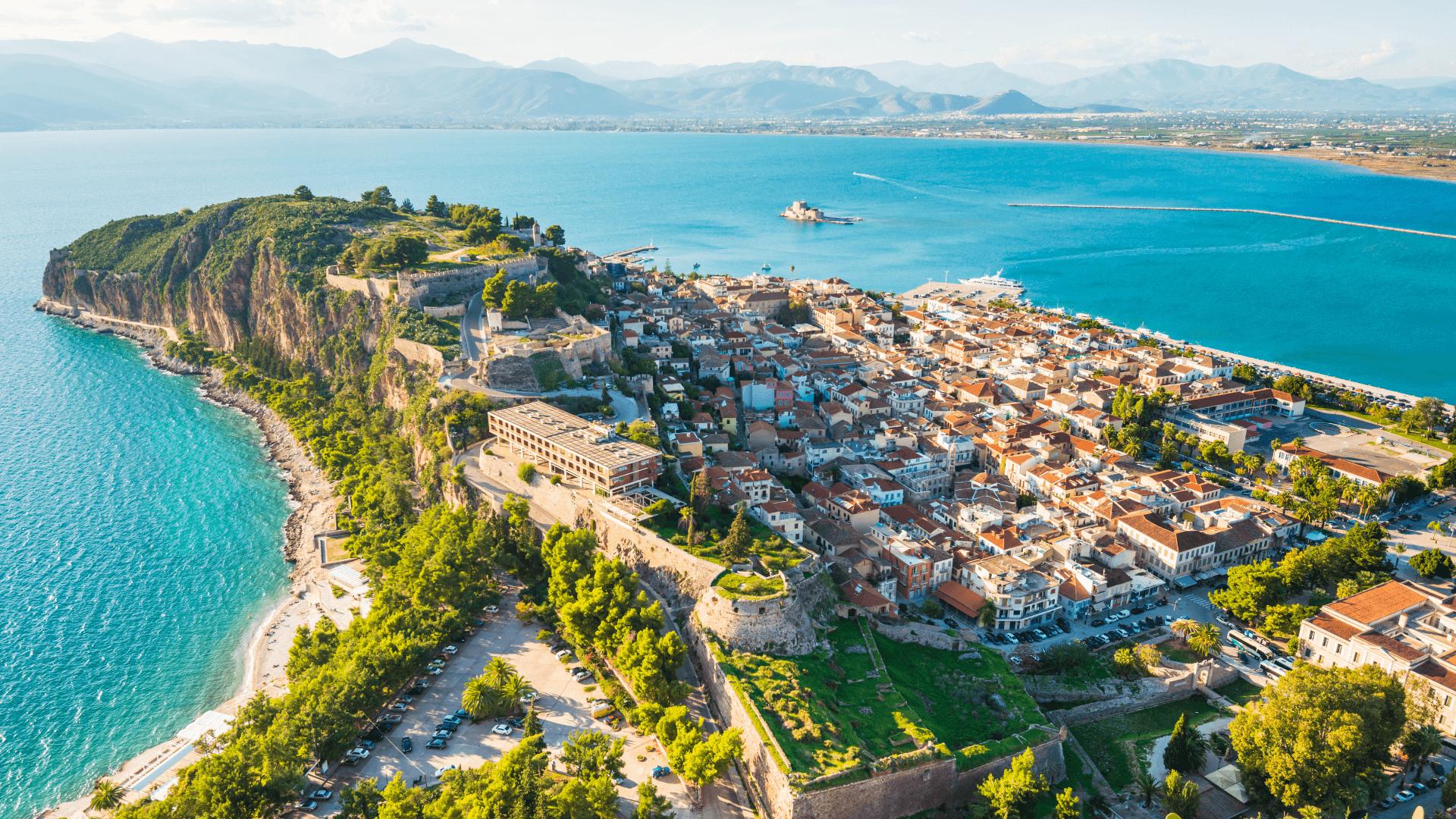 Yunanistan'ın İlk Başkenti; Nafplion